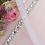 Thumbnail: Ceinture de mariage en cristaux Swarovski