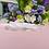 """Thumbnail: Ceinture sur ruban avec cristaux """"Ondine"""""""