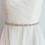 Thumbnail: Ceinture de mariage en perles et cristaux