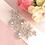 "Thumbnail: Ceinture de mariage ""Fleurs"" cristaux Swarovski"