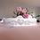 Thumbnail: Ceinture sur ruban avec cristaux Swarovski