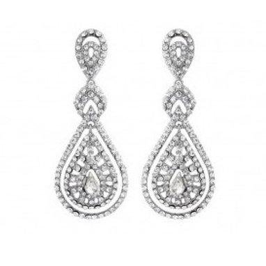 """Boucles d'oreilles chandeliers vintage """"Amelia"""""""