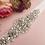 Thumbnail: Ceinture de mariage en cristaux et perles