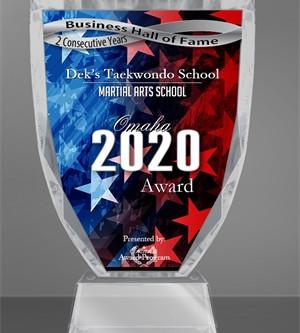 Welcome Dek's Taekwondo School to the Omaha Business Hall of Fame!