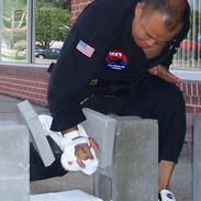 Master Dek-Rt. Palm Heel (1 Brick)