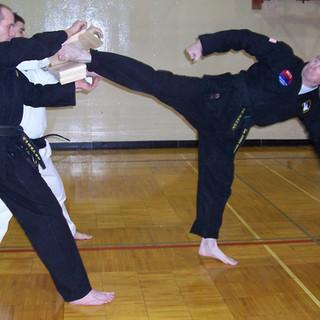 Master O'Gara-Rt. Sliding Side Kick (4 B