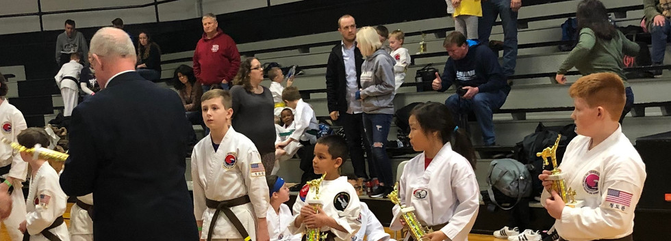 Brown Belt 9-11 Year Old Competition