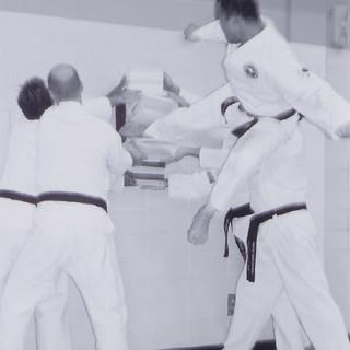 Master Dek-Flying Side Kick Break (Ten B