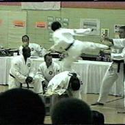 Master Stevens-Flying Side Kick (over 1