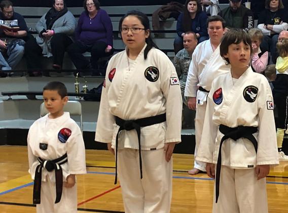 Junior Black Belt Competition