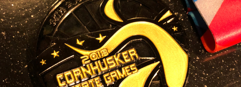 The 2018 Cornhusker State Games Gold Med