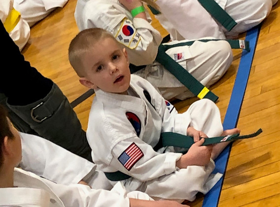 Mini Peewee Green Belt  Competition 5-8 Years Old