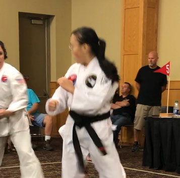 Vivian finds herself in a battle!