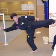 Master Stevens-Lt. Sliding Side Kick (4