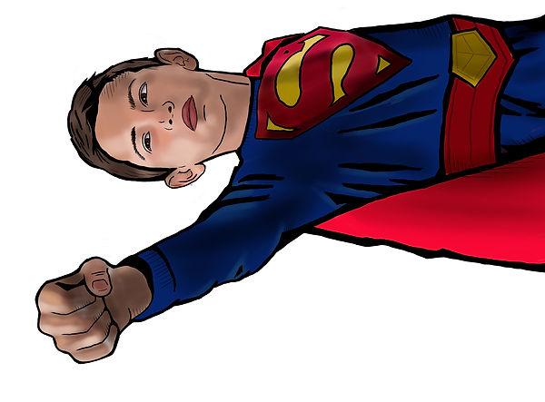 suit up superman