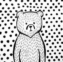 #inktober No. 13 - simple little bear_._
