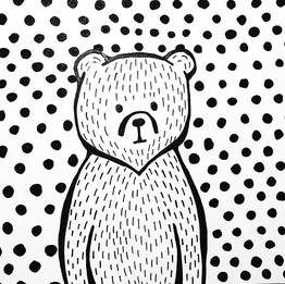 #inktober No. 13 - simple little bear_._