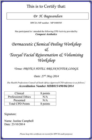 Conquest-CPD-Certificate-10-2014-Dr-Mano