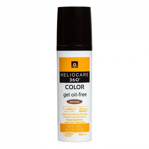 Heliocare 360 Gel-Oil Free Colour Bronze