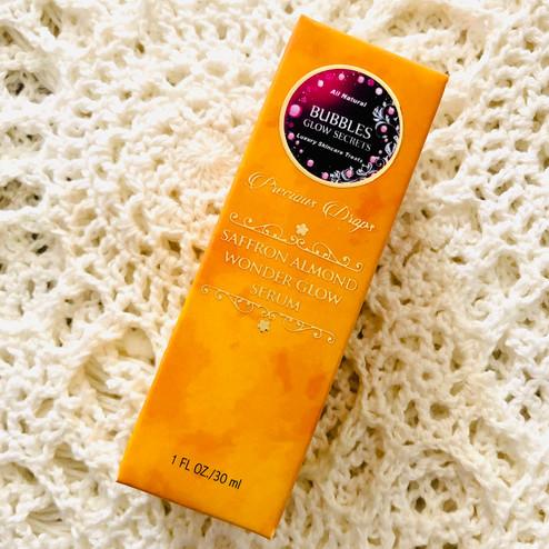 Saffron Almond Wonder Glow Serum