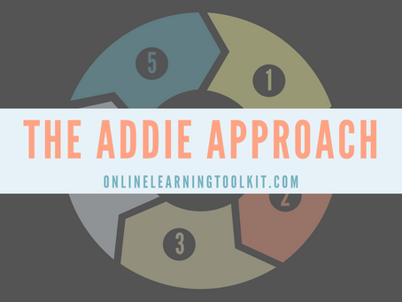 New Course Alert! The ADDIE Approach