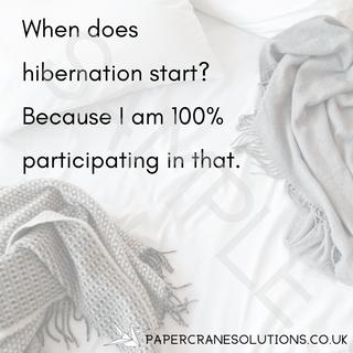Hibernation quote