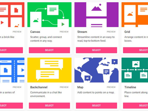 Collaborating with Padlet