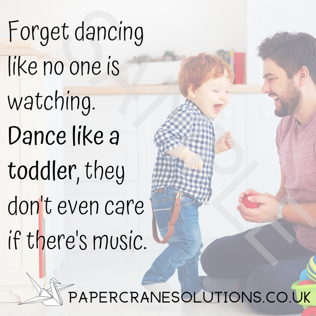 Forget dancing like no one is watching.