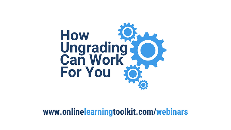 How Ungrading Can Work For You