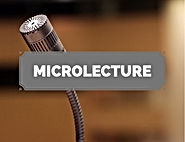 Learn more about creating microlecture videos
