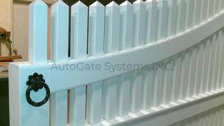 Wood Clad Gates Fabrication detail