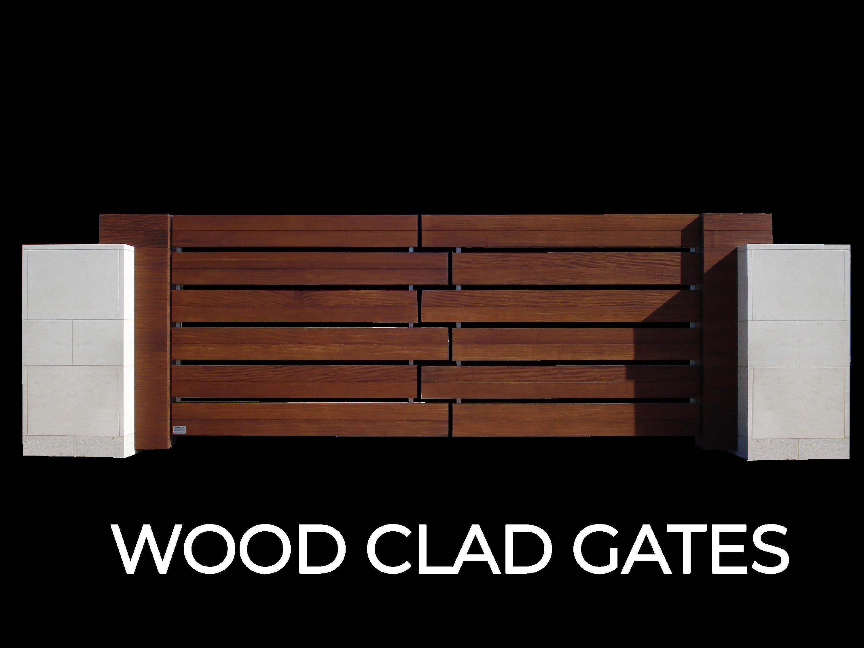 Wood Clad Gates