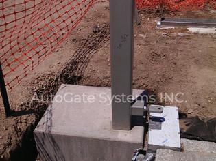 Gates installation