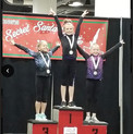1st Place winner on Vault! Reese!