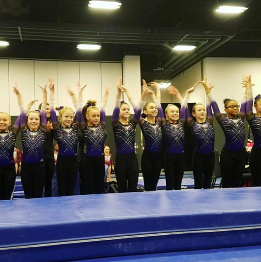 Level 4's ready to compete