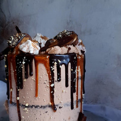 Nutella and caramel.