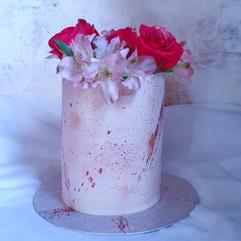 Vanilla pink marble