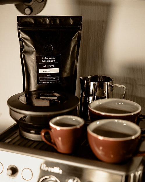 Coffee Beans - Brazil (250g) from Ella and the Blackbird
