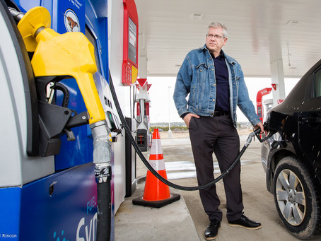 ANGUS SAYS COMPETITION BUREAU MUST GET SERIOUS ABOUT GAS PRICES