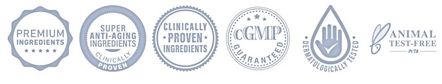 SENS by VIVRI contiene ingredientes Premium, sistema antiedad clinicamente comprobado