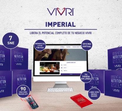 Membresía VIVRI Imperial