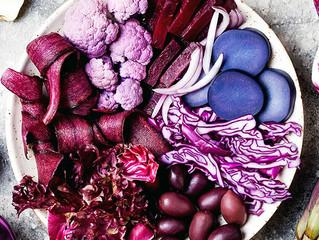 Frutas y vegetales morados: ¡más nutrientes y color en tus platillos!