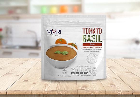 VIVRI SOUPS TOMATO BASIL 10 PORCIONES