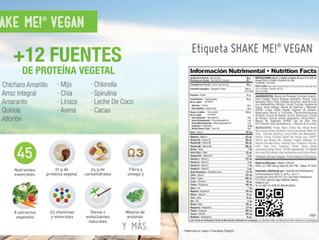 Proteína Vegana 100% natural