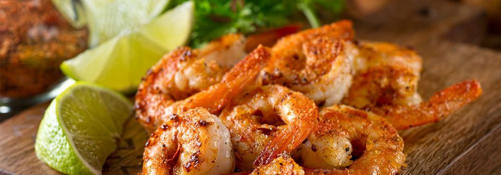 ¿Buscas una receta fácil y baja en calorías? Prueba estos deliciosos camarones.