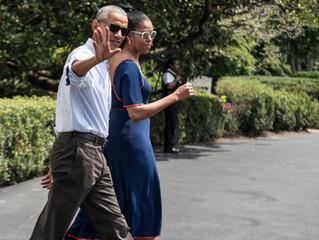 Obama Family Visits Martha's Vineyard