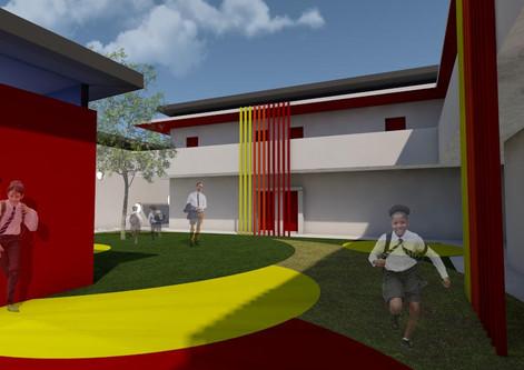 3 KA Architecture Academy School Concept
