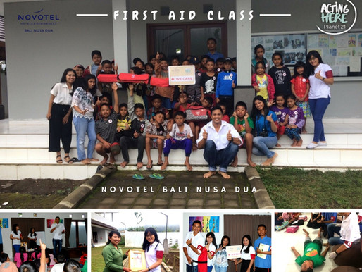 First Aid Class with Novotel Bali Nusa Dua at Sanggar Bedugul
