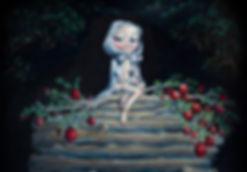 EVA RE-DIVINIDA es una serie de óleos que redefine el mito del Jardín del Edén, quitándole su mensaje de culpa y vergüenza para reemplazarlo con la divinidad.