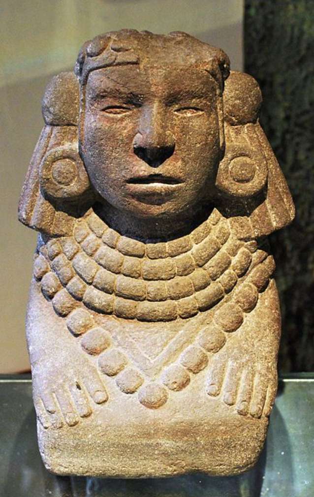 Tonantzin a famous Aztec corn goddess